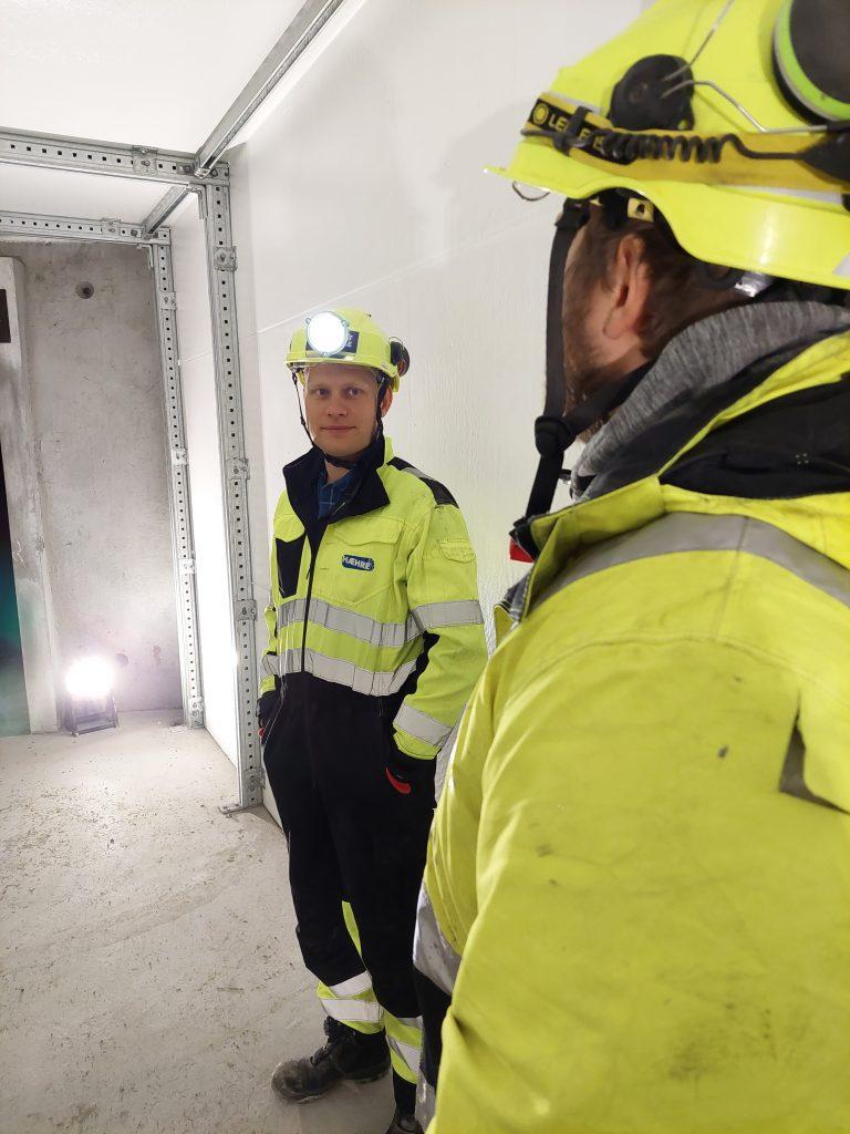 Martin Hefre er fornøyd med Foamrox og de miljøvennlige elementene i tunnel