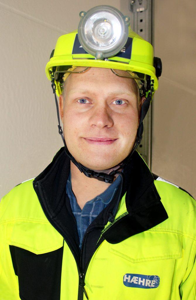 Martin Hefre fra Hæhre Entreprenør
